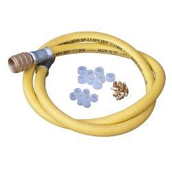 """Tubi 3/8"""" senza depressore e accessori per tubi  per condizionamento"""