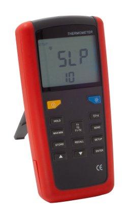 Termometro differenziale bi-sonda per la misurazione della temperatura