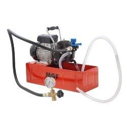 Pompa collaudo elettrica fino a 20 bar per impianti idraulici e solari