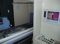 Fase di rettifica con controllo numerico computerizzato delle testate delle pompe vuoto MGF