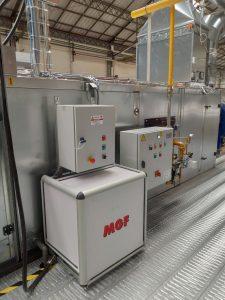 Sistema automatico di disinfezione e umidiifcazione per condotte d'aria